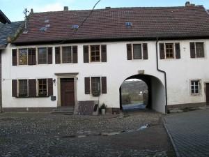 Wohnhaus gebaut zwischen1606 und 1609